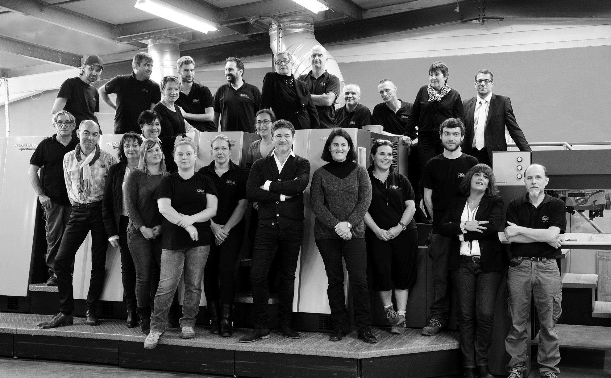 Imprimerie SODAL - L'équipe
