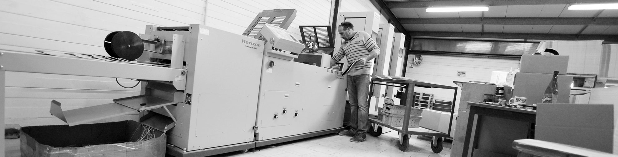 Imprimerie SODAL - Assembleuse