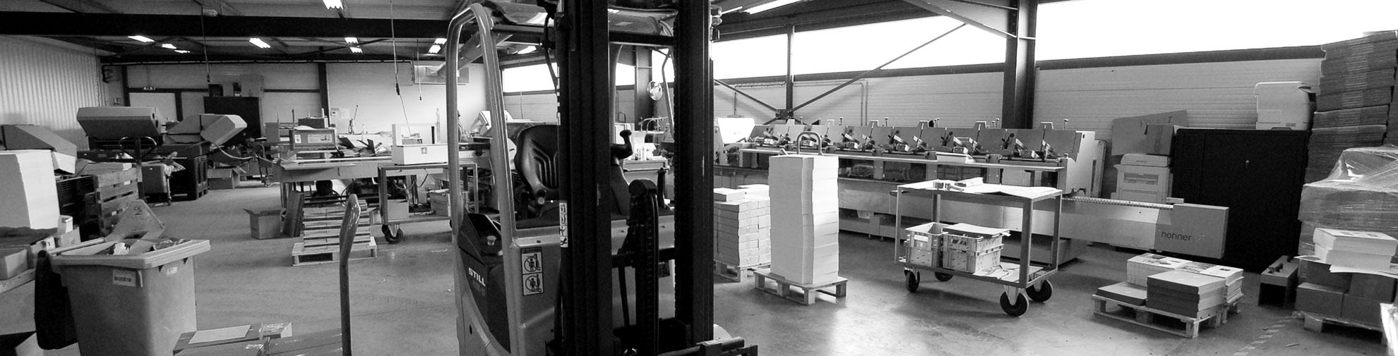 Imprimerie SODAL - L'atelier